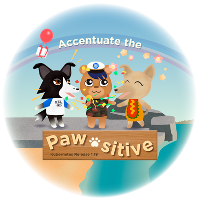 The new release logo represents the positive or rather Pawsitive mindset of the team and the world in general.
